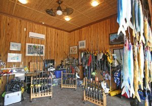 Bait Shack - Tackle Room