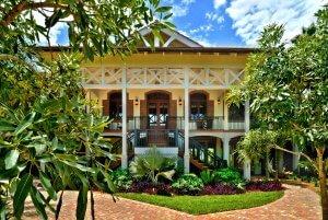 The Tides - Exterior Architecture, Front Porch