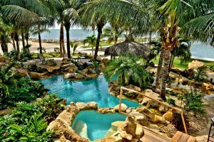 The Tides - Landscaping, Pool