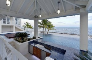 Key Largo Modern - Pool, Landscape Architect, Outdoor Kitchen