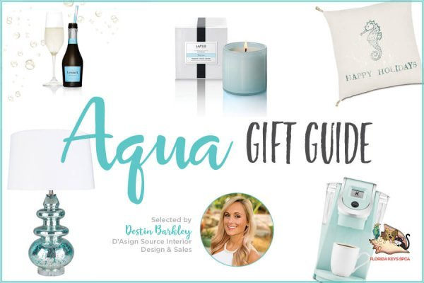 Aqua Gift Guide by Destin Barkley