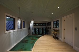 Lands End - Fish Pond, Entryway