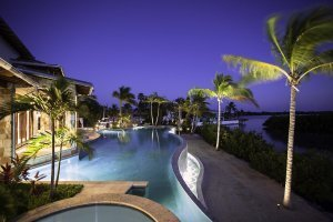 Tarpon Ranch - Exterior, Pool, Night
