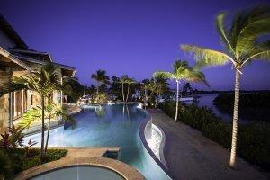 Tarpon Ranch - Exterior, Pool, Night
