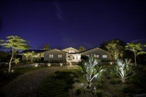 Casa de Artista - Front Exterior, Night