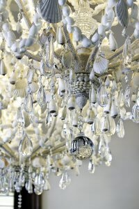 Tarpon Ranch - Chandelier Detail