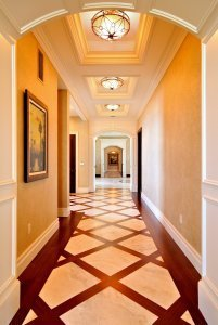 Sunset Point - Hallway Interior Design