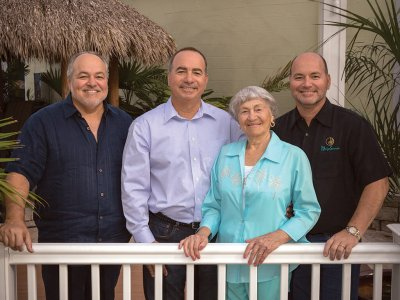 Founders Tony, Franco, Margret and Amedeo D'Ascanio